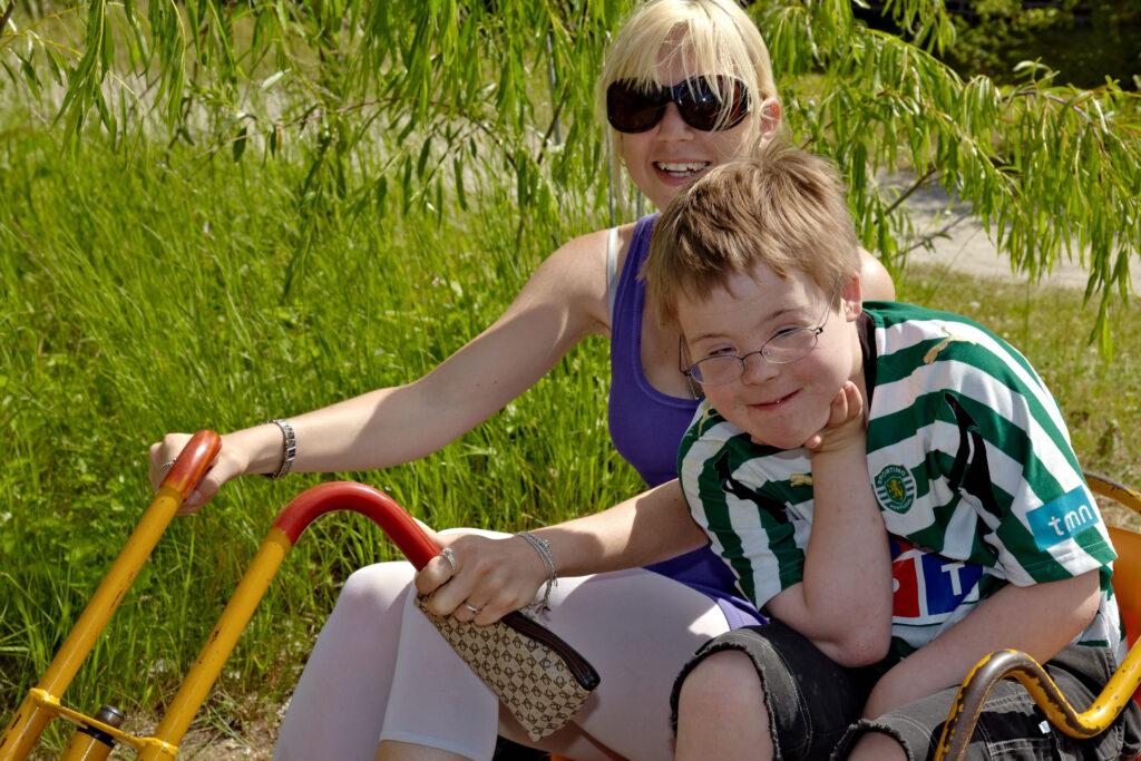 Familiekursus for børn med blandet handicap i alderen 3 til 5 år