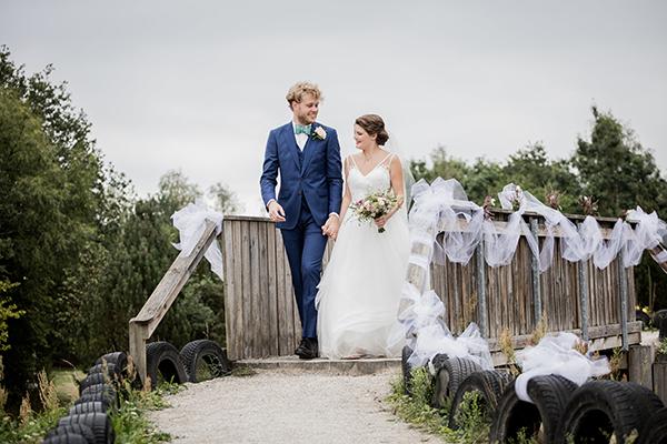Hold bryllup på Pindstrup Centret